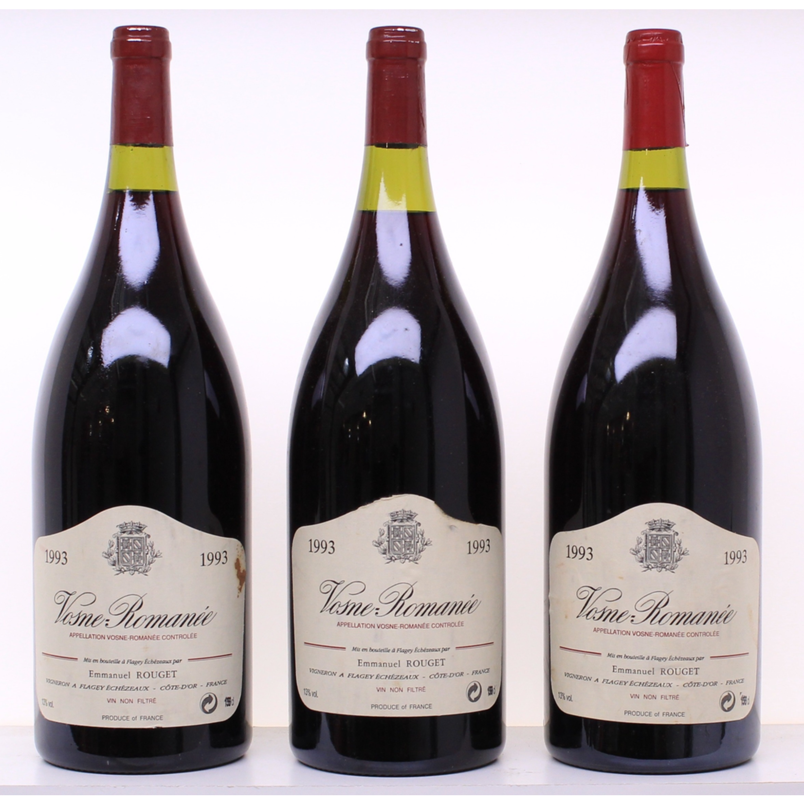 Wine Emmanuel Rouget Vosne Romanee 1993 1.5L