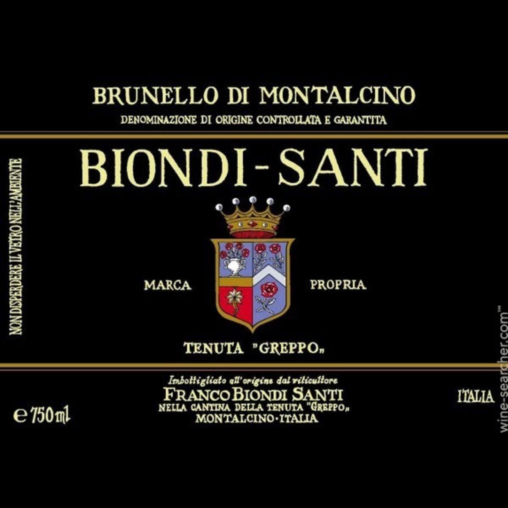 Wine Biondi Santi Brunello di Montalcino Riserva 1975