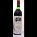 Wine Chateau L'Evangile 1975