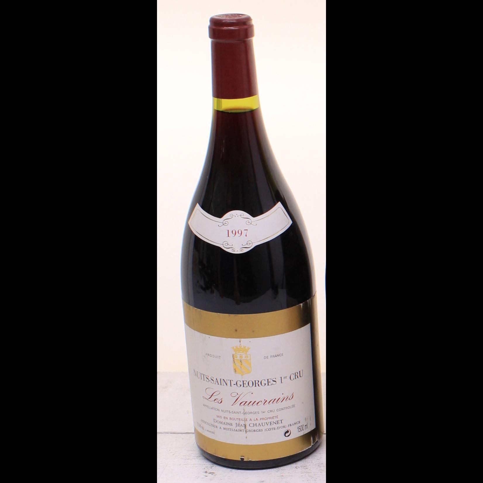 Wine Chauvenet Nuits St Georges Les Vaucrains Premier cru 1997 1.5L