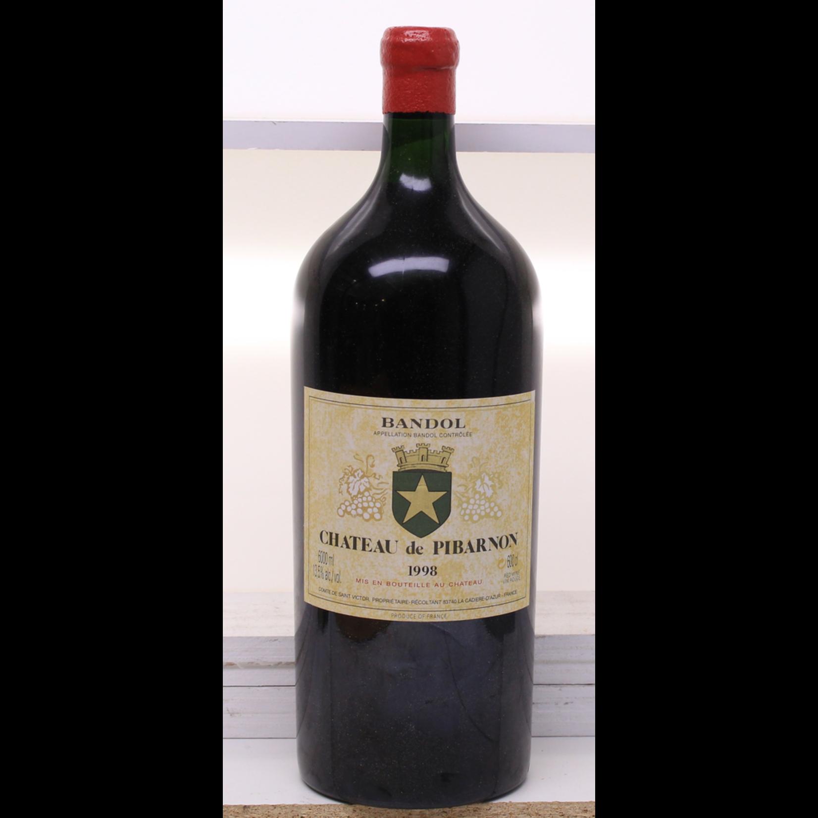 Wine Chateau de Pibarnon Bandol Rouge 1998 6L