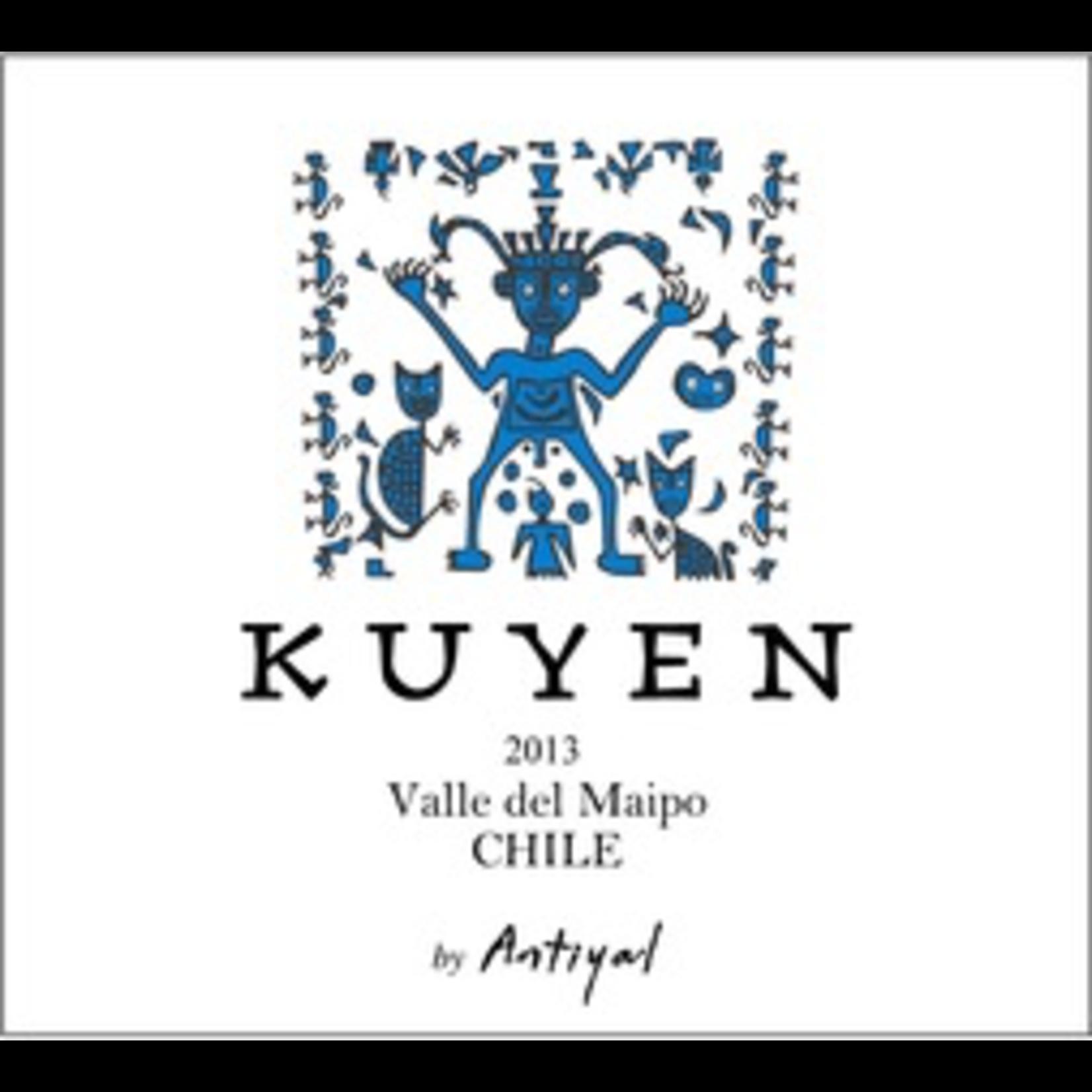 Wine Antiyal Valle del Maipo Kuyen 2017