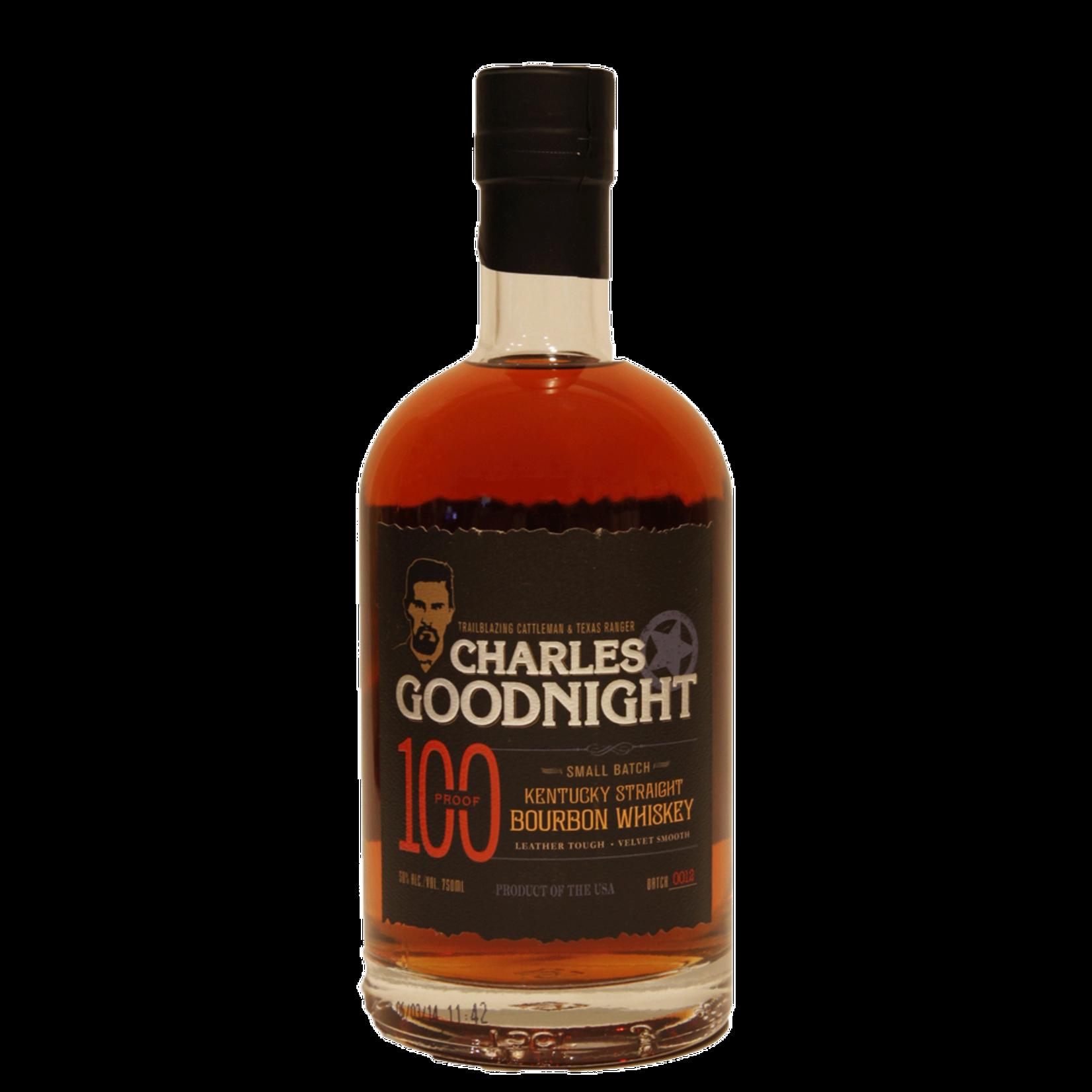 Spirits Charles Goodnight Kentucky Bourbon 100 Proof
