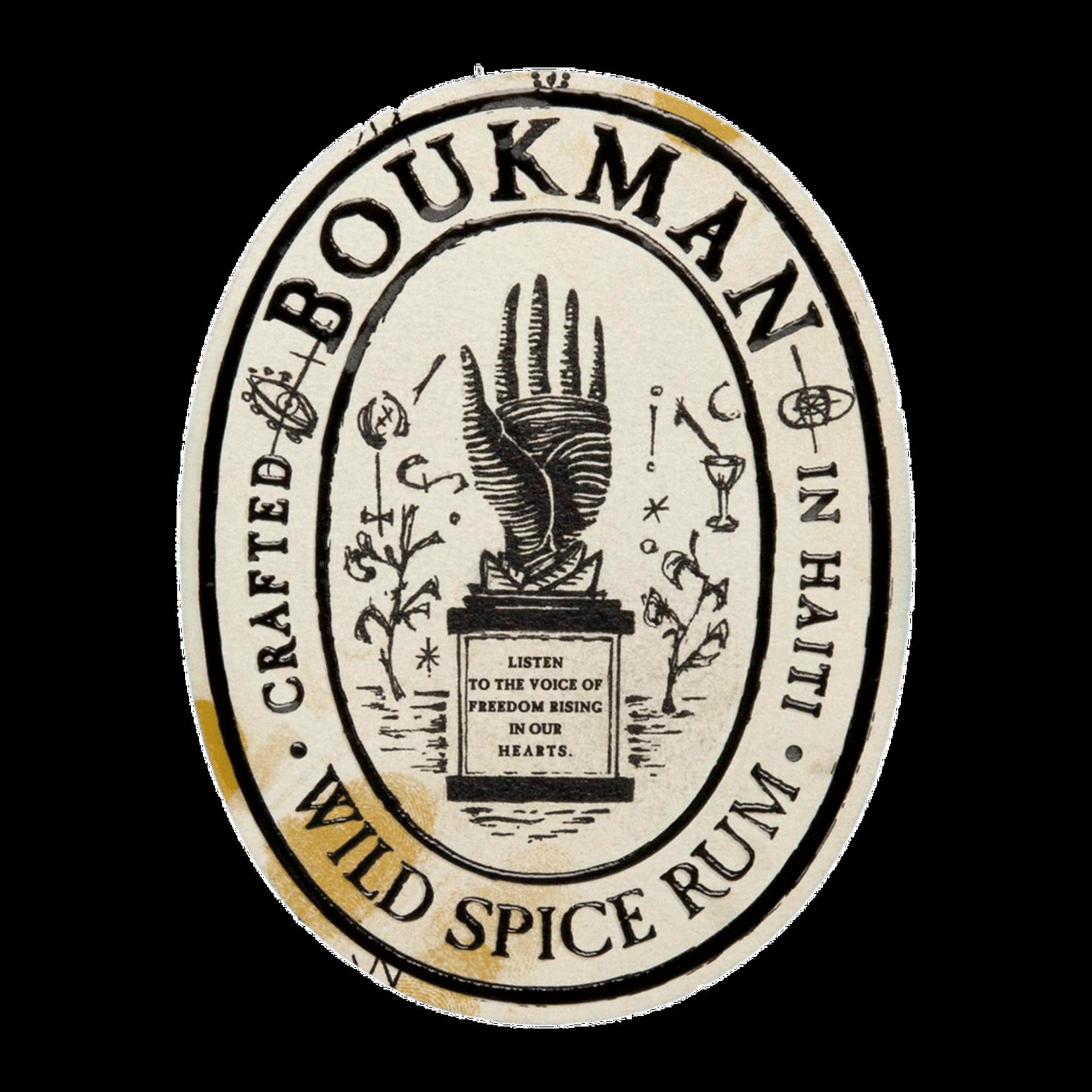Spirits Boukman Botanical Agricole Rhum Haiti