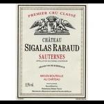 Wine Chateau Sigalas Rabaud Sauternes 2013