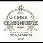 Wine Château Carbonnieux, La Croix de Carbonnieux Rouge 2016