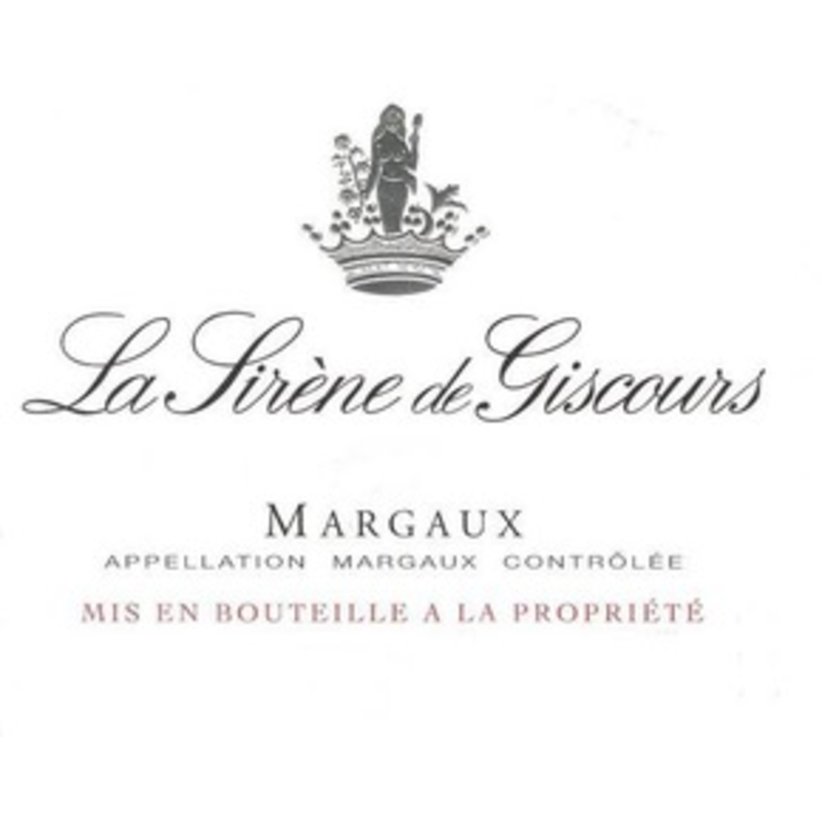 Wine La Sirene de Giscours 2014 3L