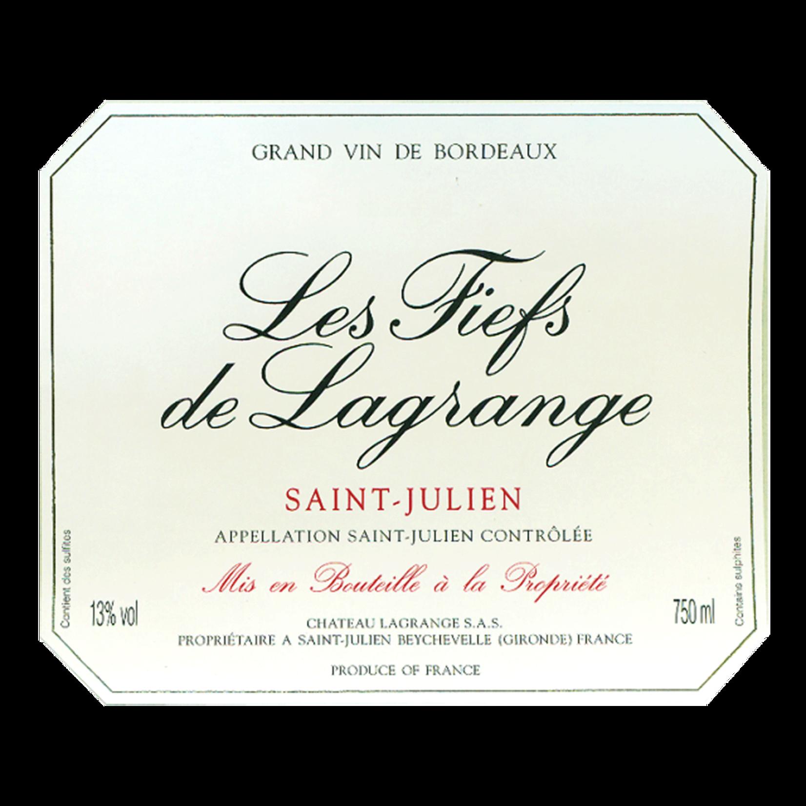 Wine Les Fiefs de Lagrange Saint-Julien 2011