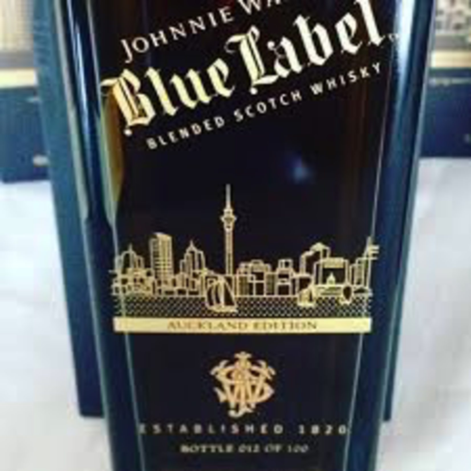 Spirits Johnnie Walker Blue Label New York Skyline Limited Edition