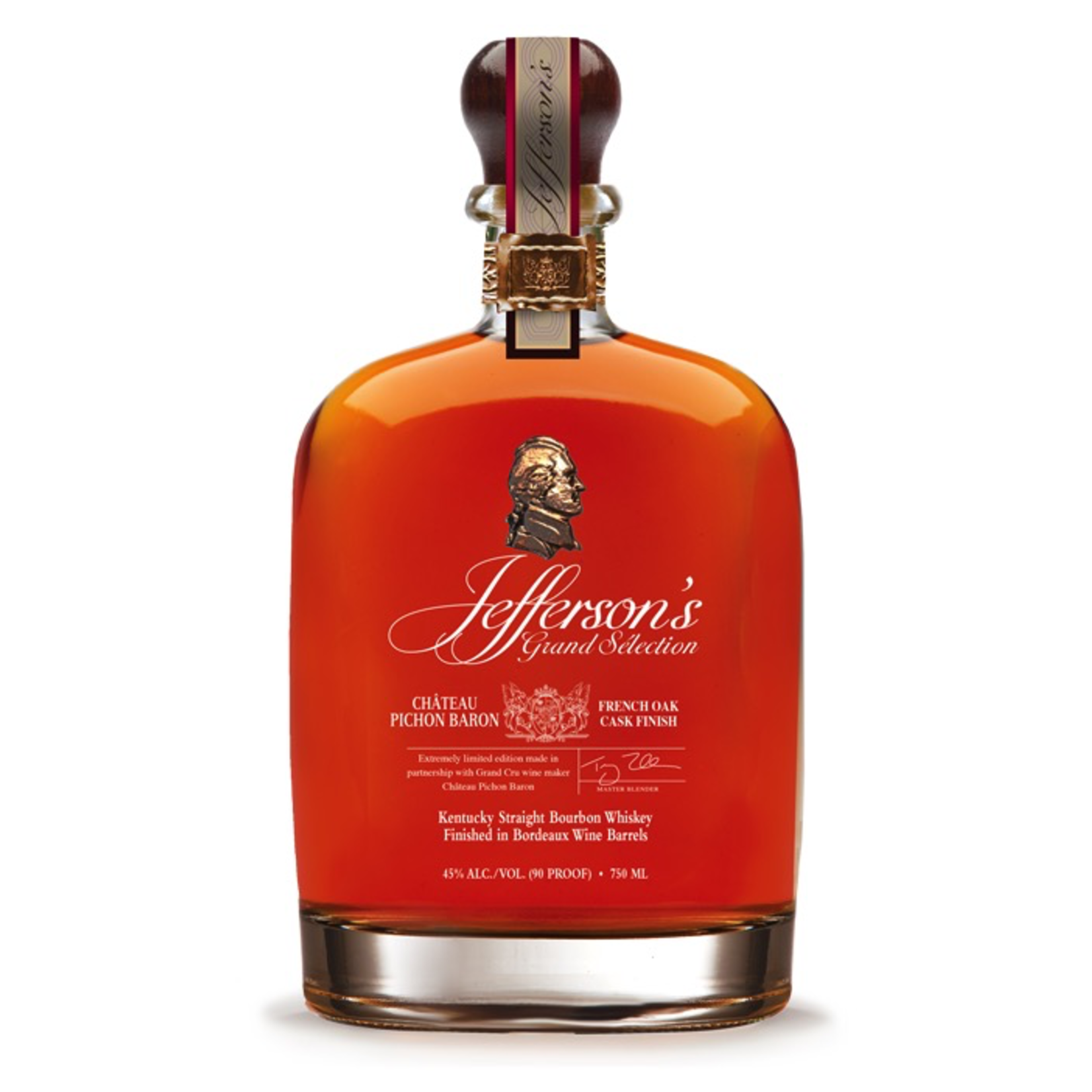 Spirits Jefferson's Bourbon Grand Selection Chateau Pichon Baron Cask Finish