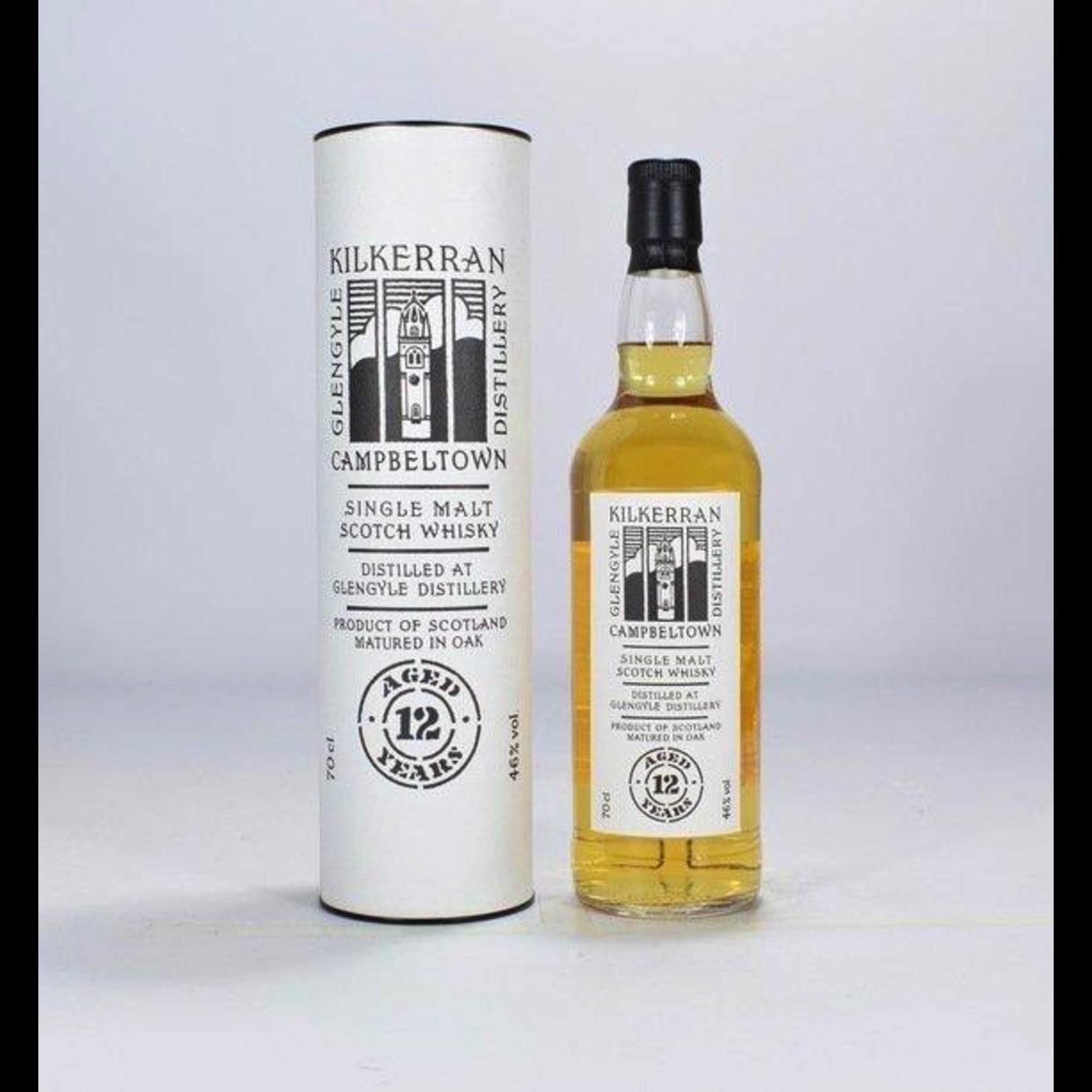 Spirits Kilkerran Scotch Single Malt 12 Year