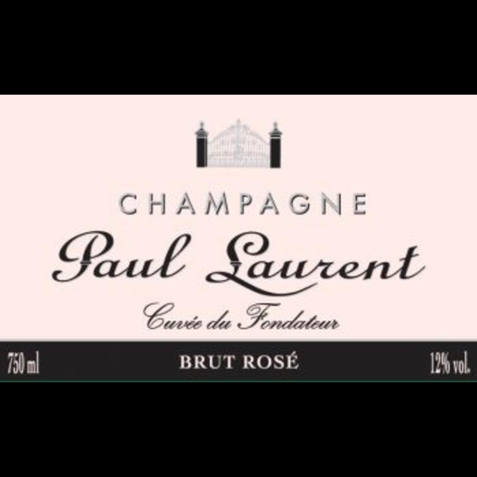 Wine Paul Laurent Rose Champagne