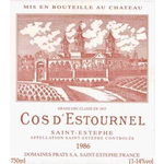 Wine Cos d'Estournel 1985