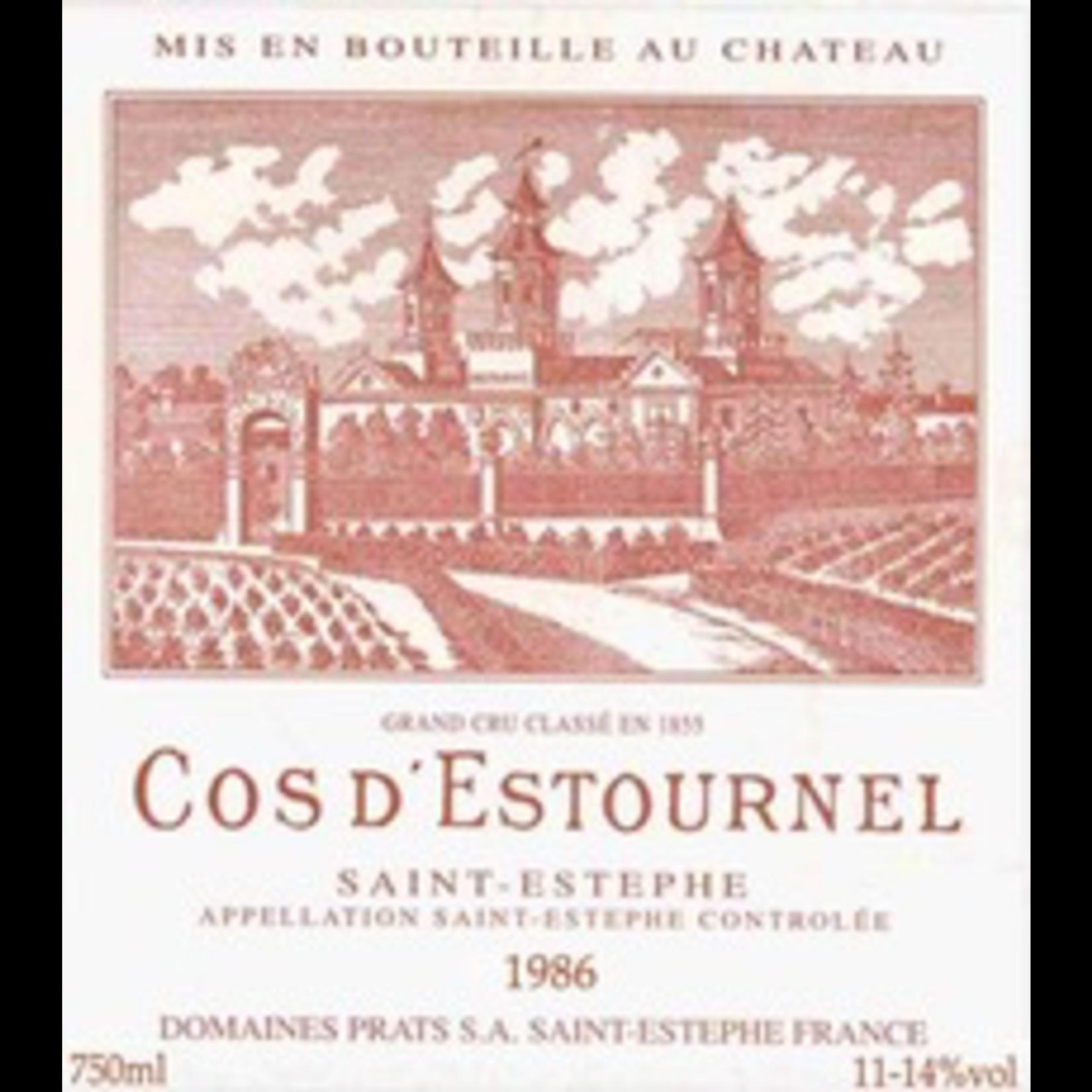 Wine Cos d'Estournel 1985