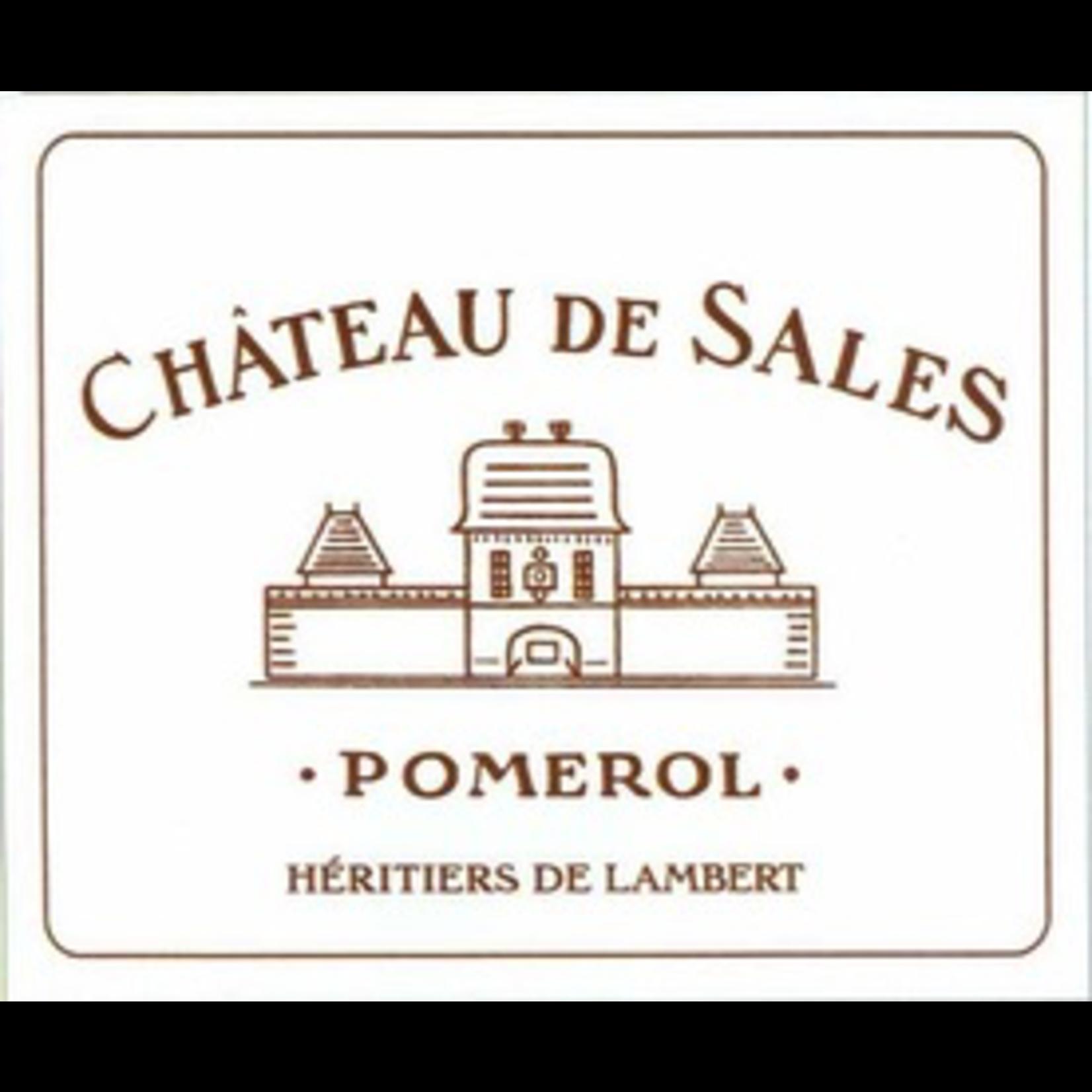 Wine Chateau de Sales Pomerol 2014 3L