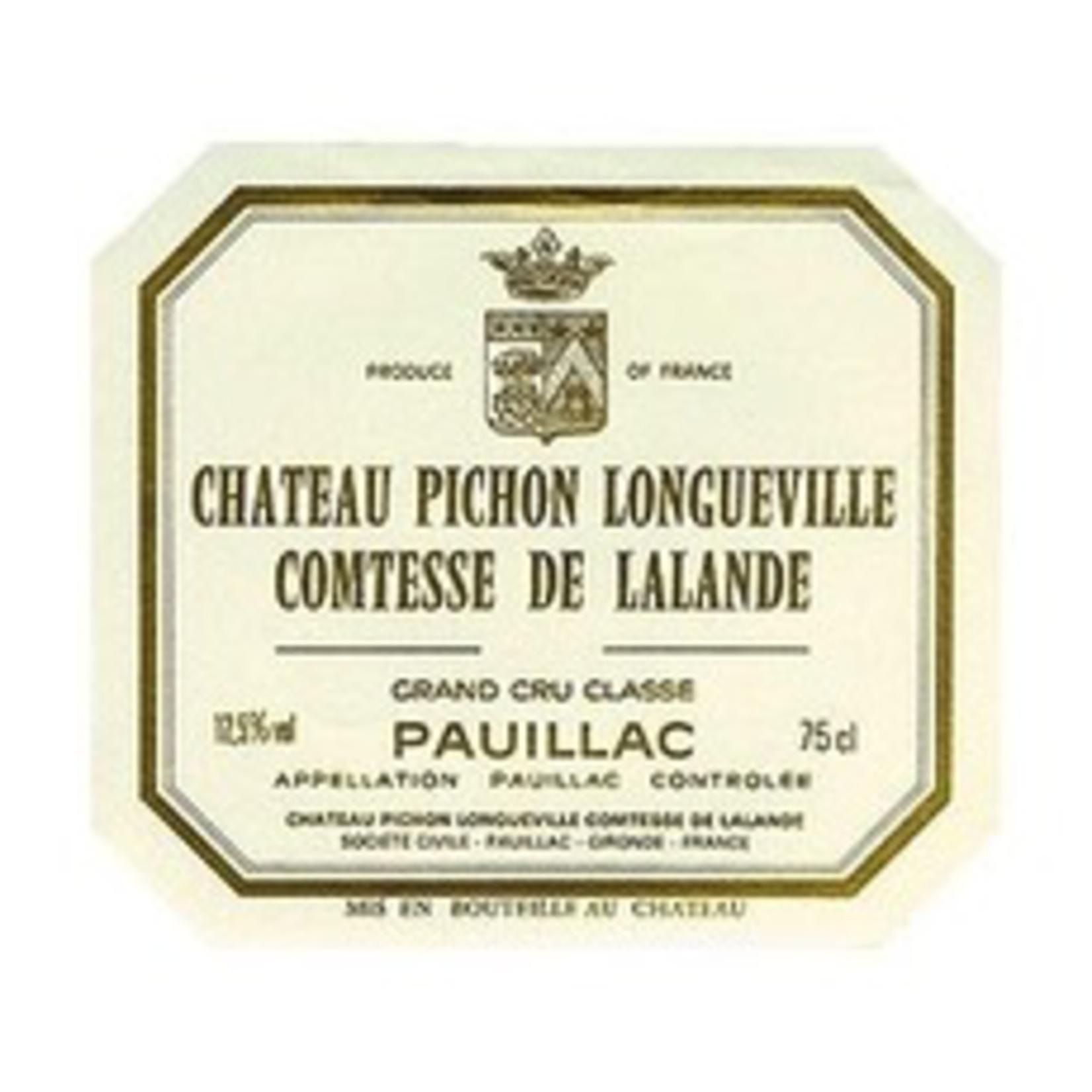 Wine Chateau Pichon Longueville Lalande 2002
