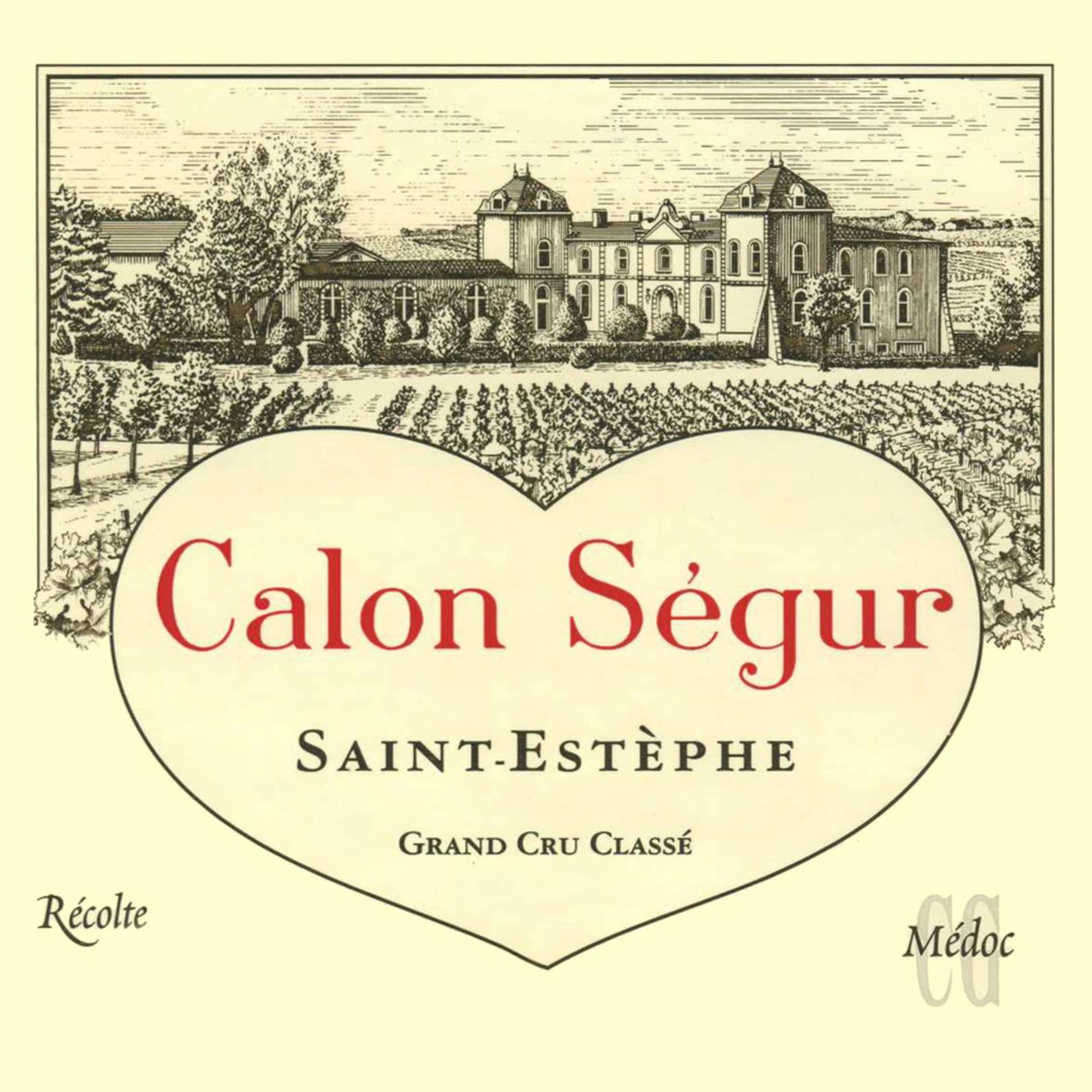Wine Chateau Calon Segur 2006 3L