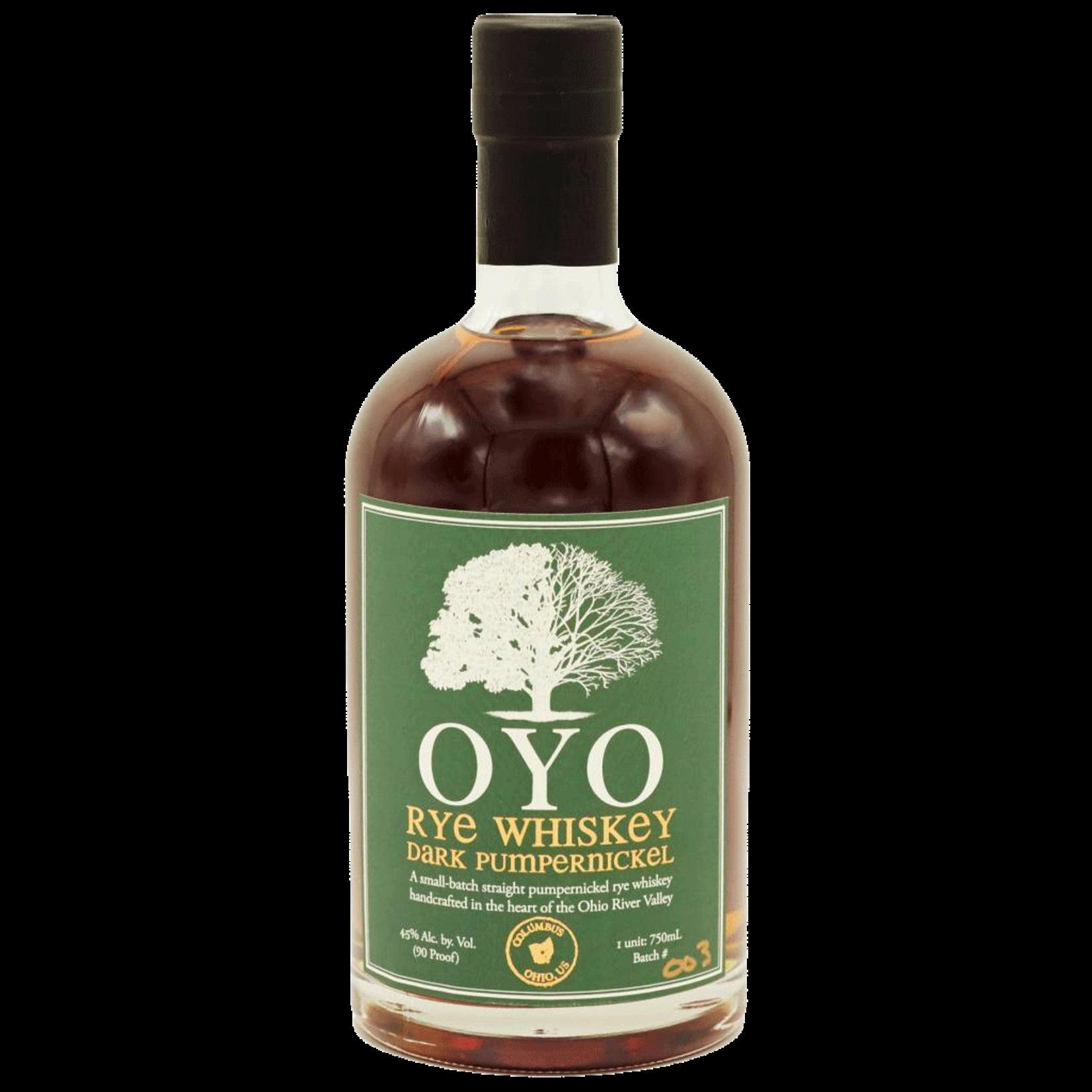 Spirits OYO Rye Whiskey Dark Pumpernickel