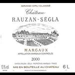 Wine Chateau Rauzan Segla 2000