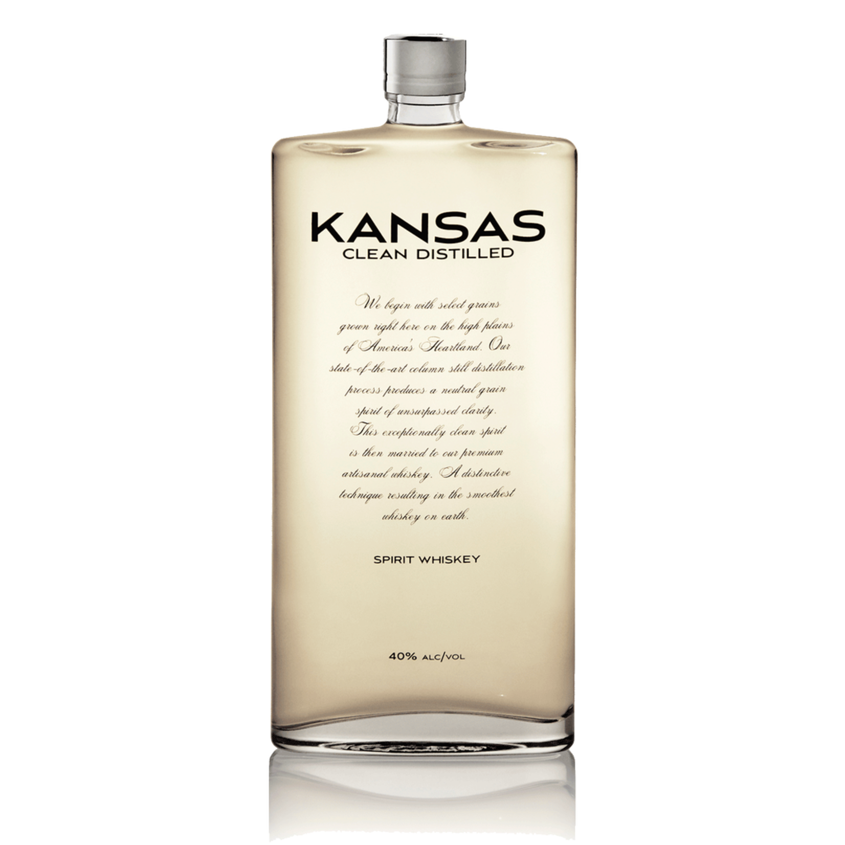 Kansas Clean Distilled Spirit Whiskey