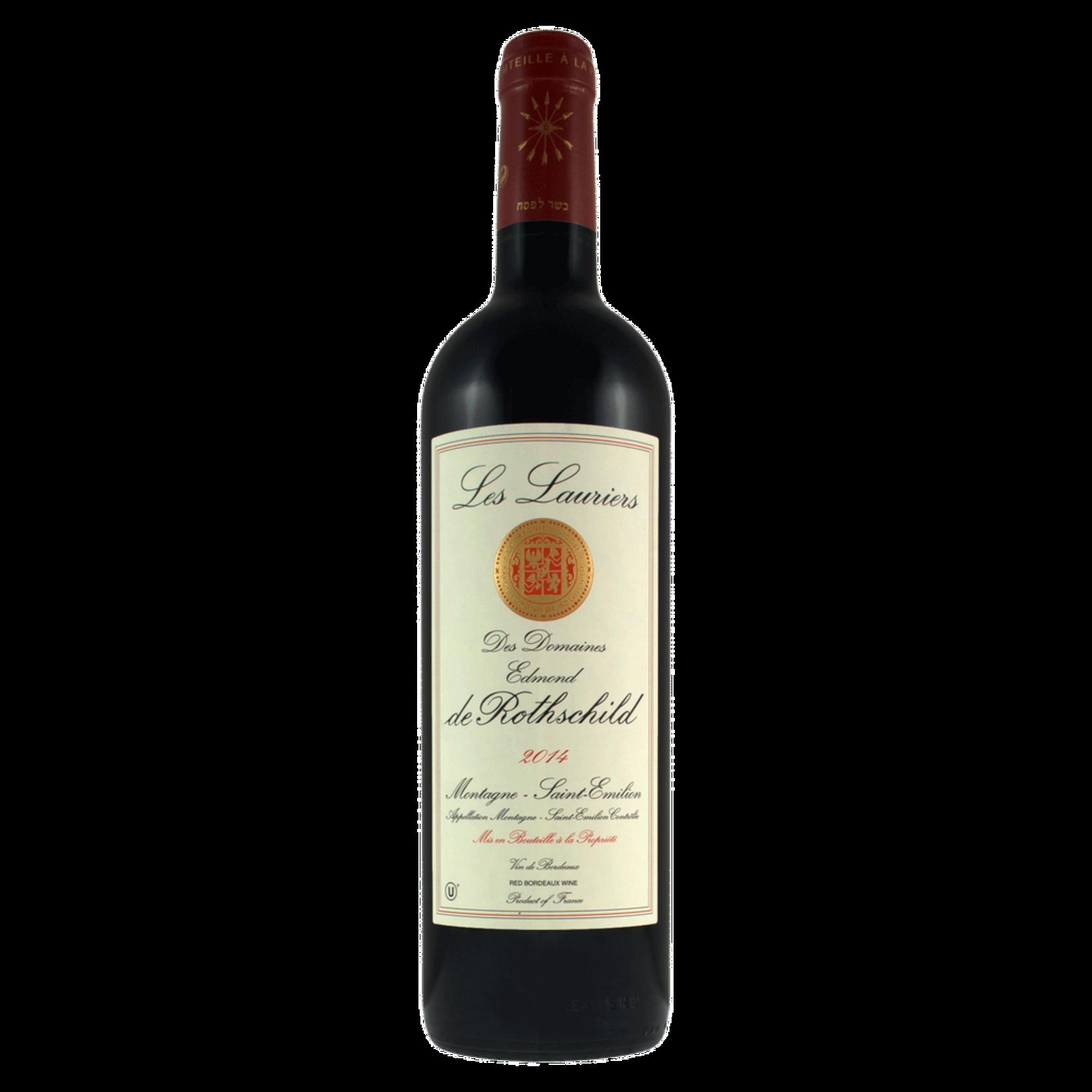 Wine Montagne Saint-Émilion Les Lauriers de Rothschild Kosher 2017