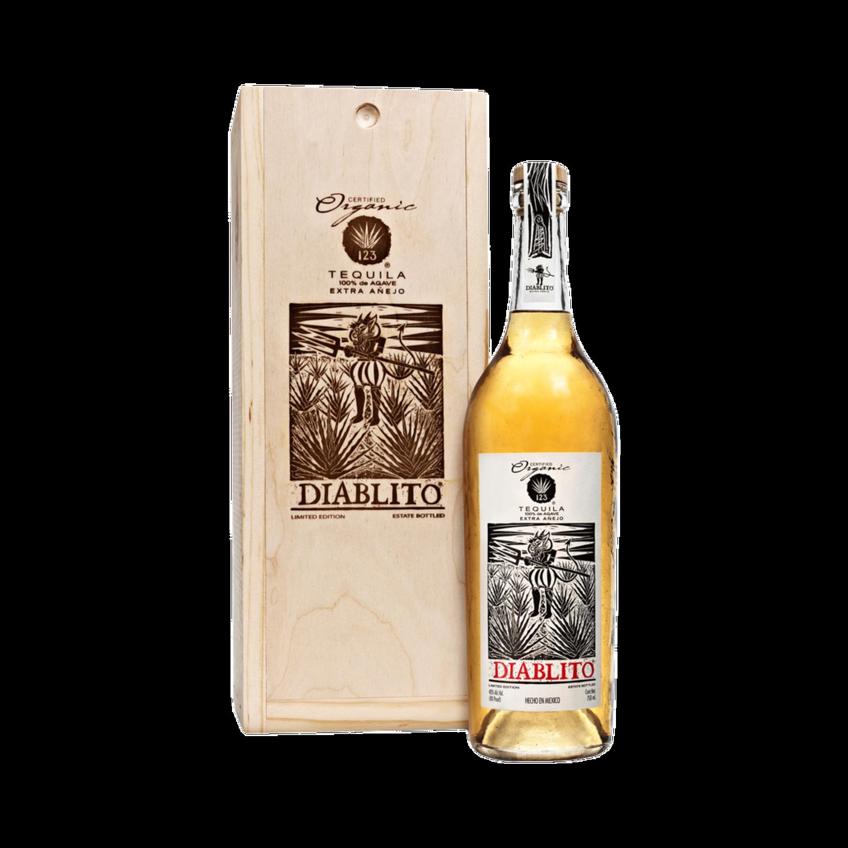 Spirits 123 Organic Tequila Extra Anejo Diablito owc