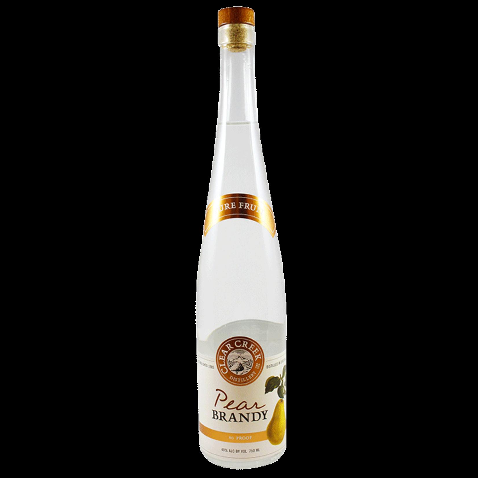 Spirits Clear Creek Distillery Williams Pear Brandy Eau de Vie 375ml