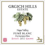 Grgich Hills Estate Fume Blanc Estate Grown Dry Sauvignon Blanc Napa Valley