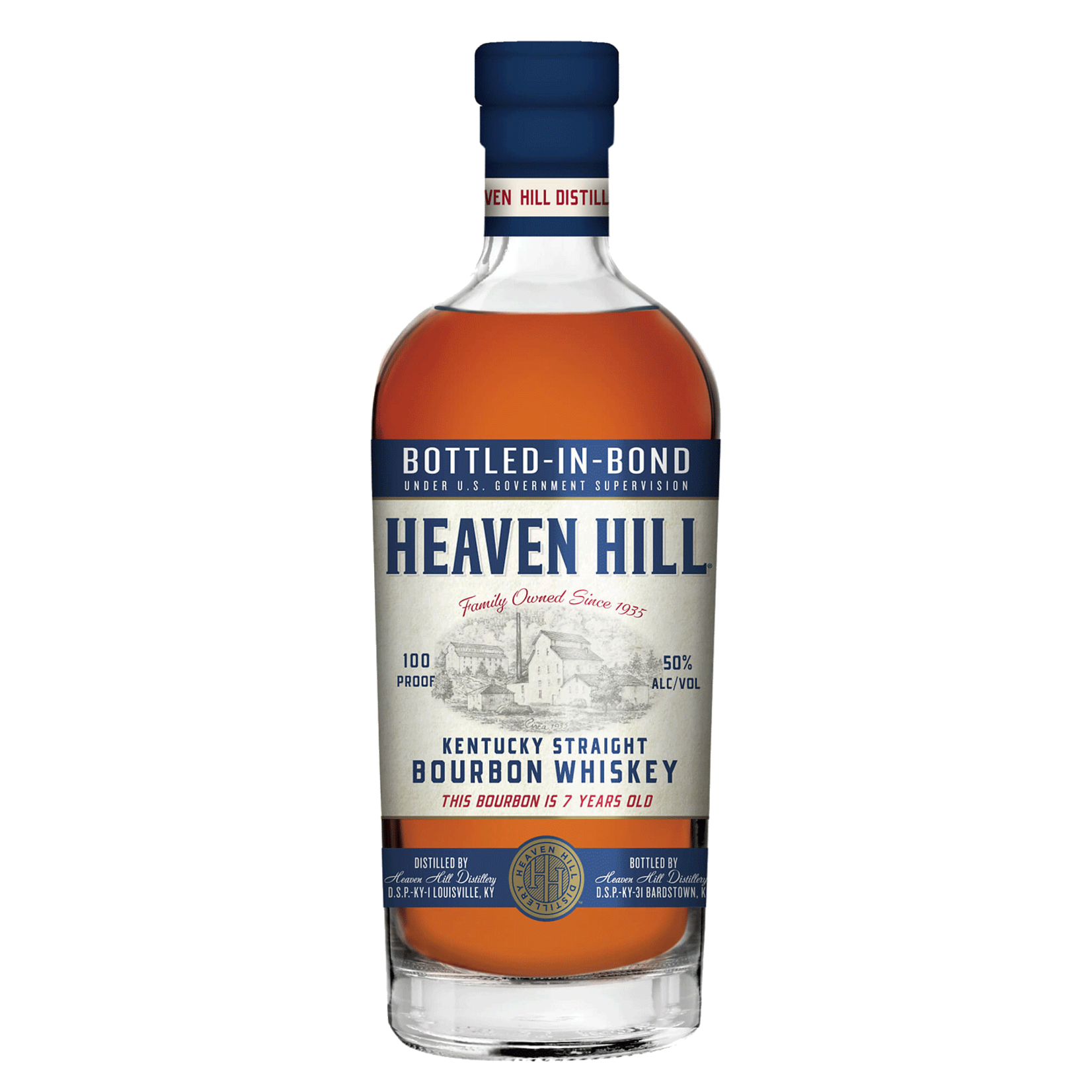 Spirits Heaven Hill Bourbon Old Style Bottled in Bond 7 Years
