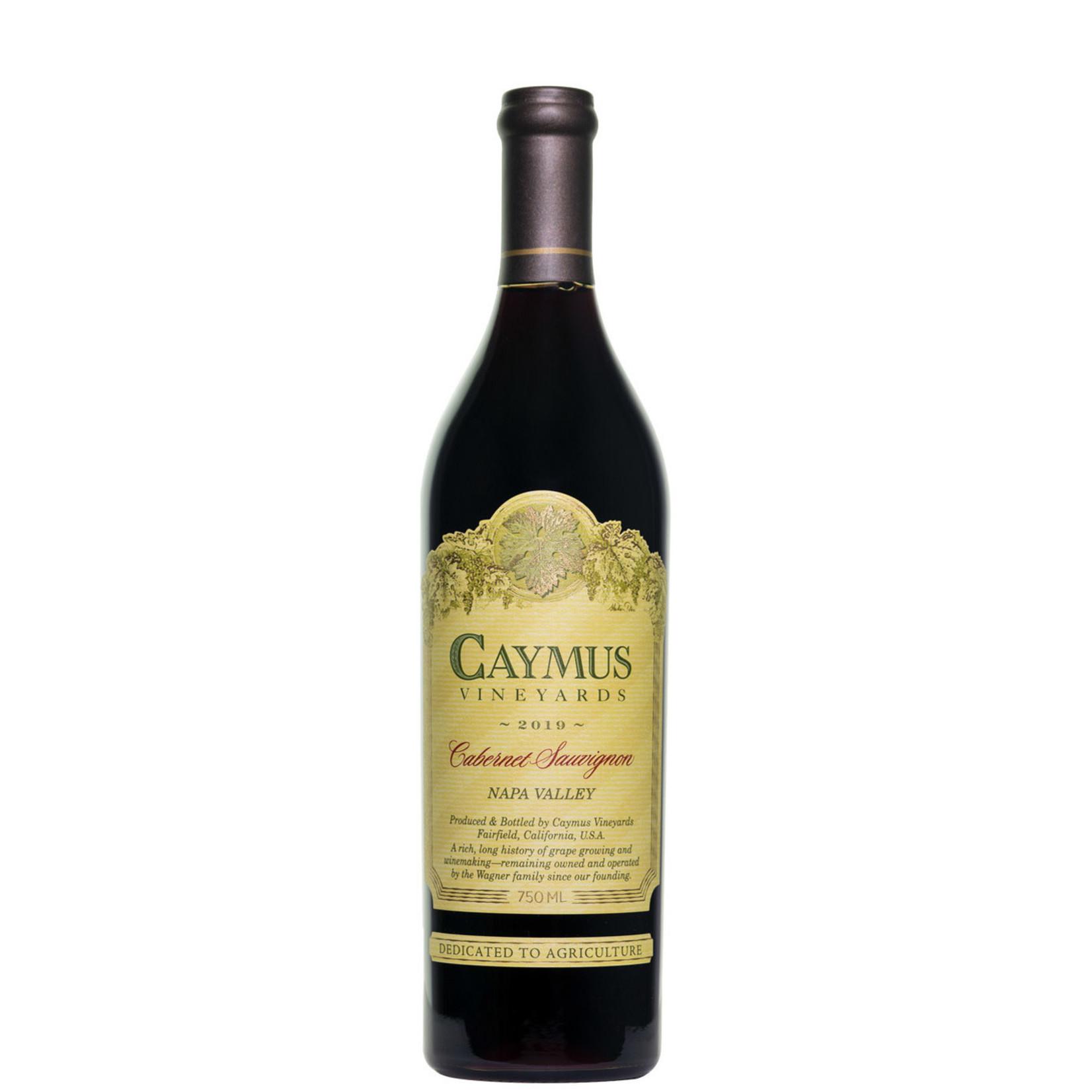 Wine Caymus Cabernet Sauvignon Napa Valley 2019