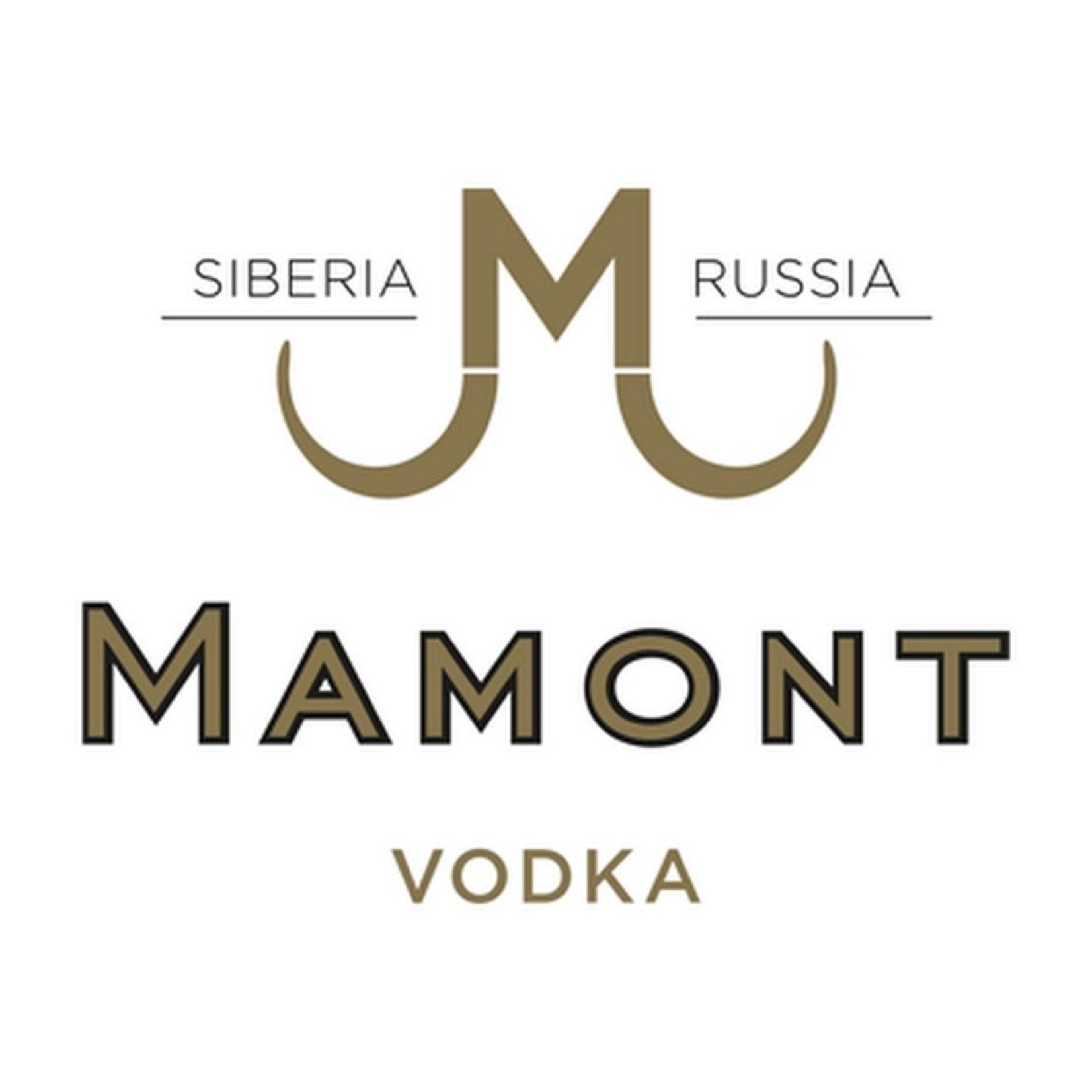 Spirits Mamont Vodka Siberia