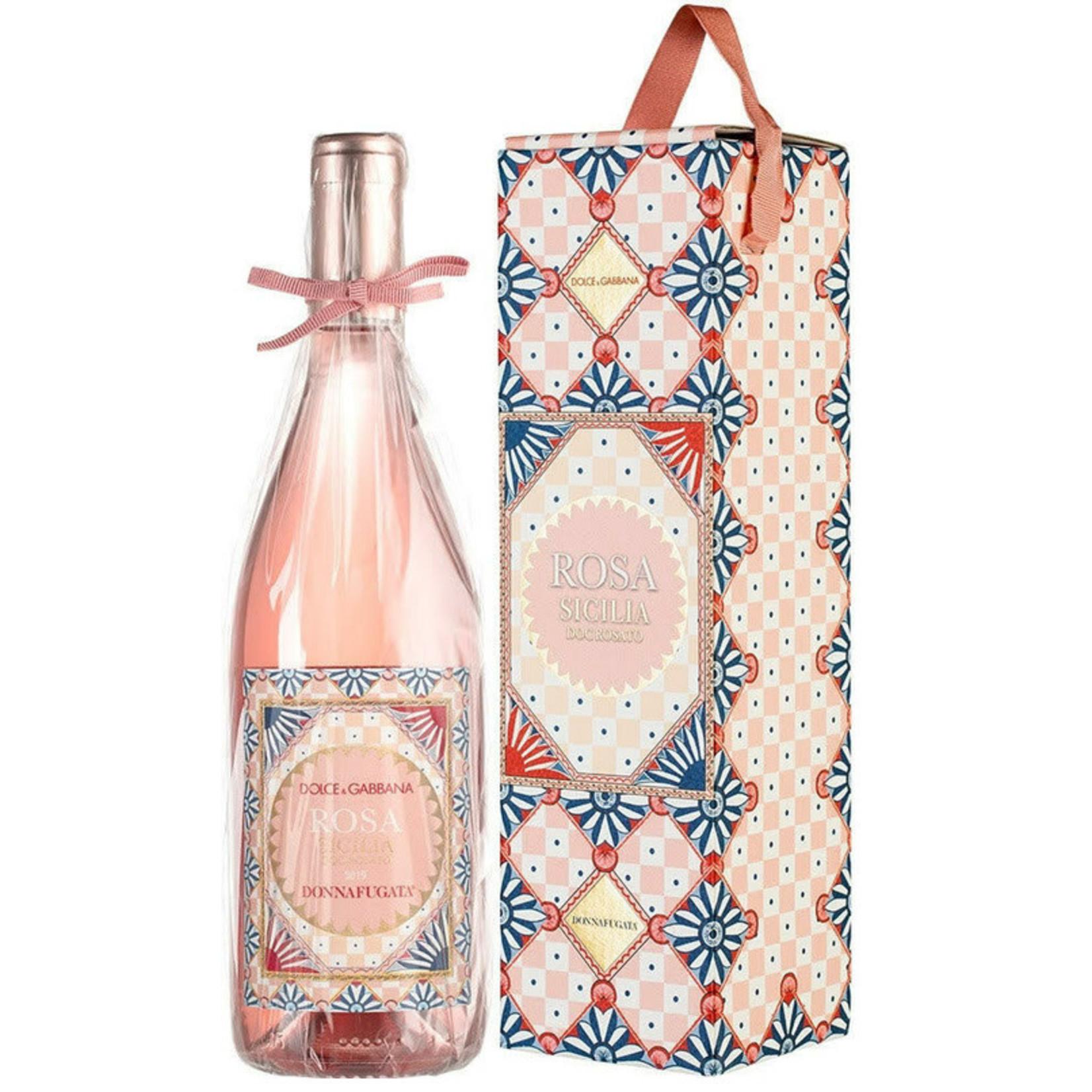 Wine Donnafugata Rosa Sicilia Dolce Gabbana Rose 2020 Gift Box