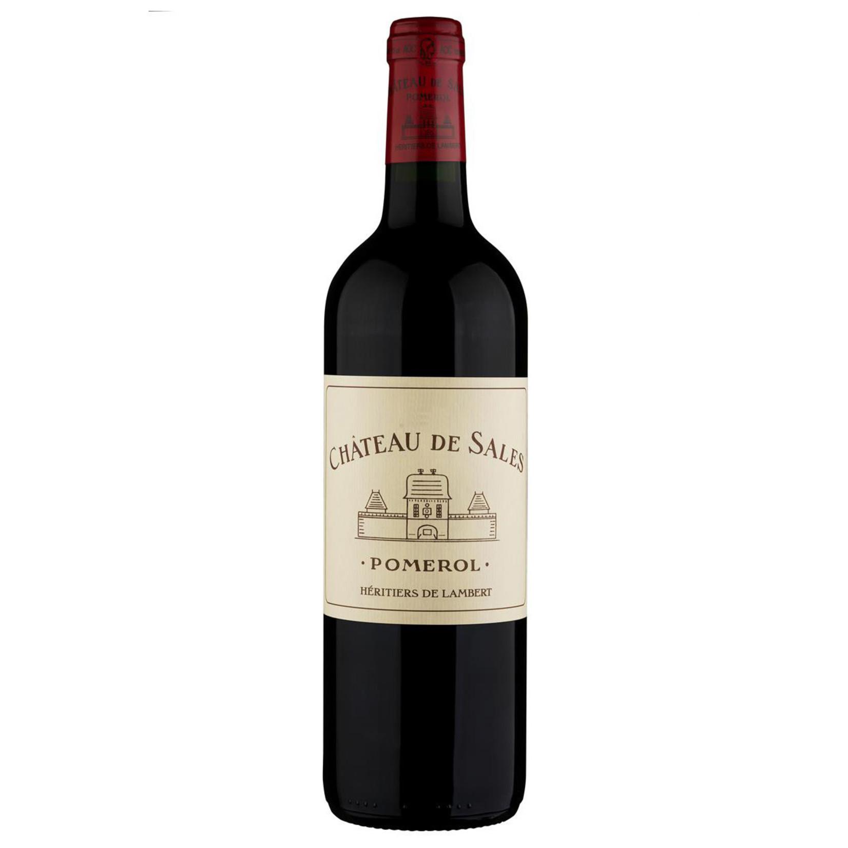 Wine Ch de Sales Pomerol 2018