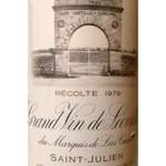 Wine Chateau Leoville Las Cases 1979