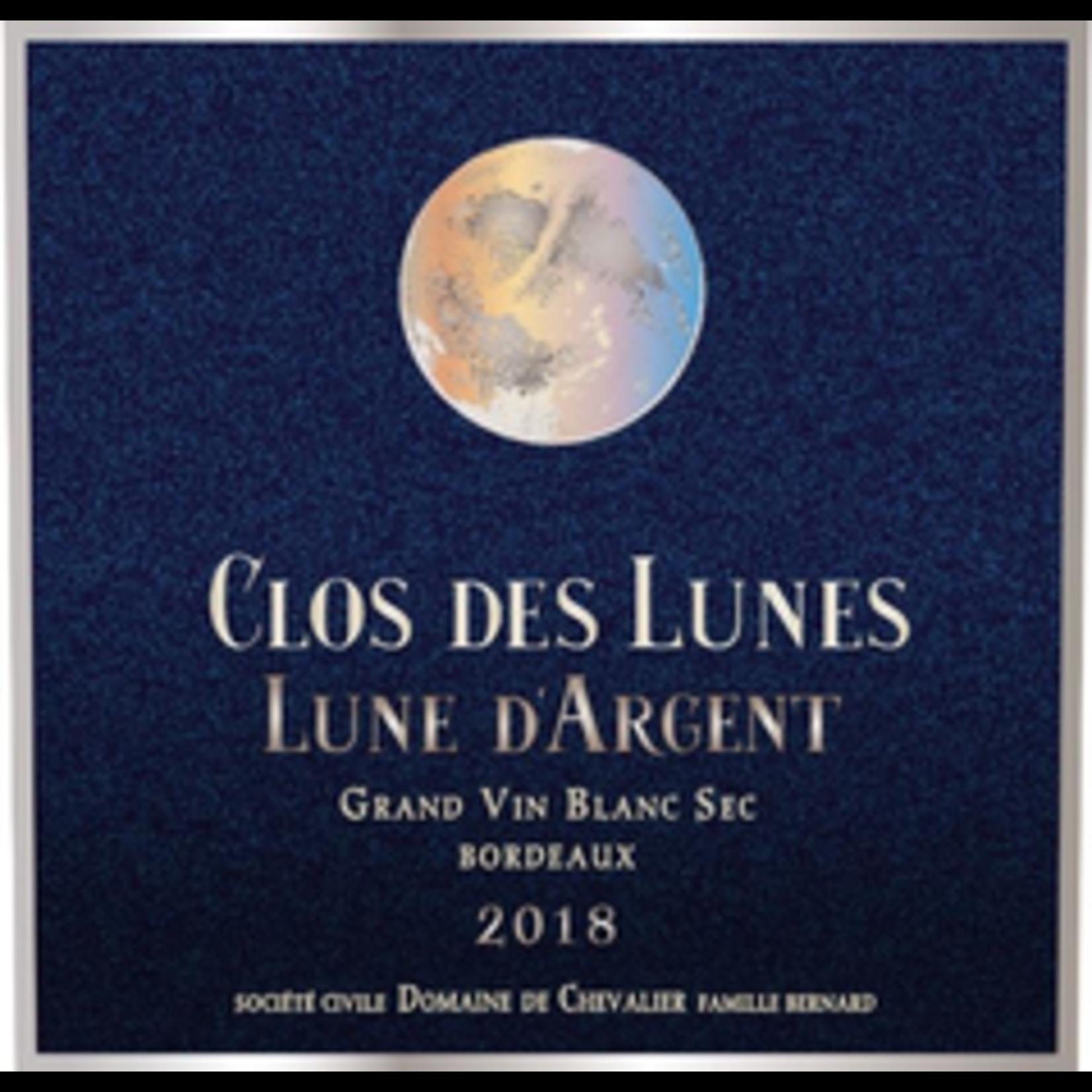 Wine Domaine de Chevalier Clos des Lunes Lune d'Argent Bordeaux Blanc 2018