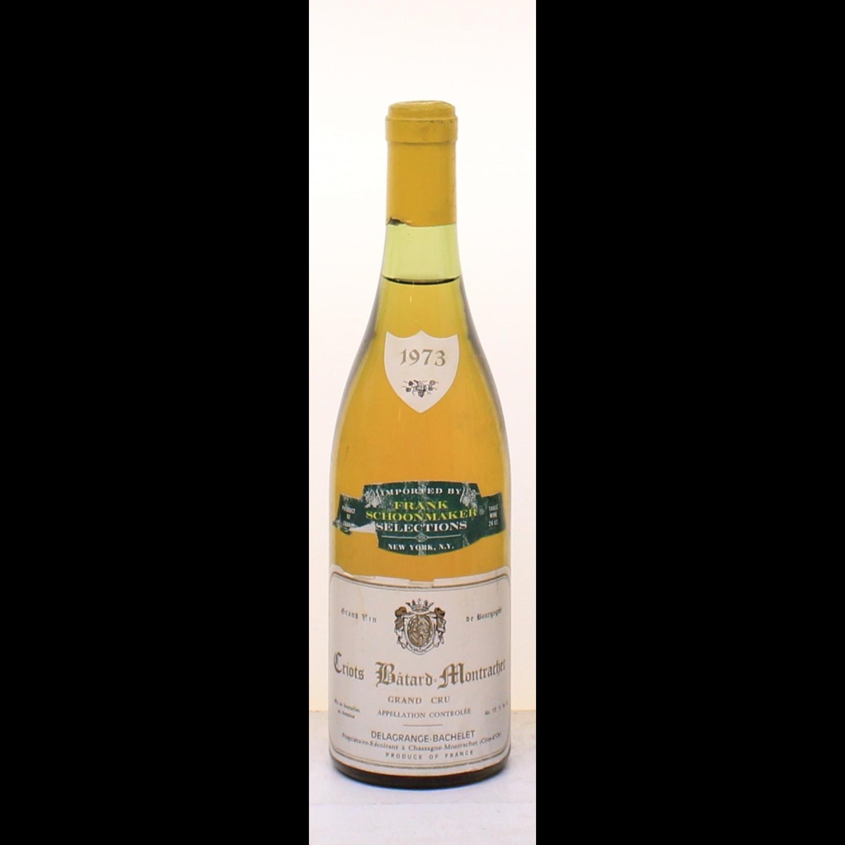 Wine Domaine Delagrange Bachelet Criots Batard Montrachet Grand Cru 1973