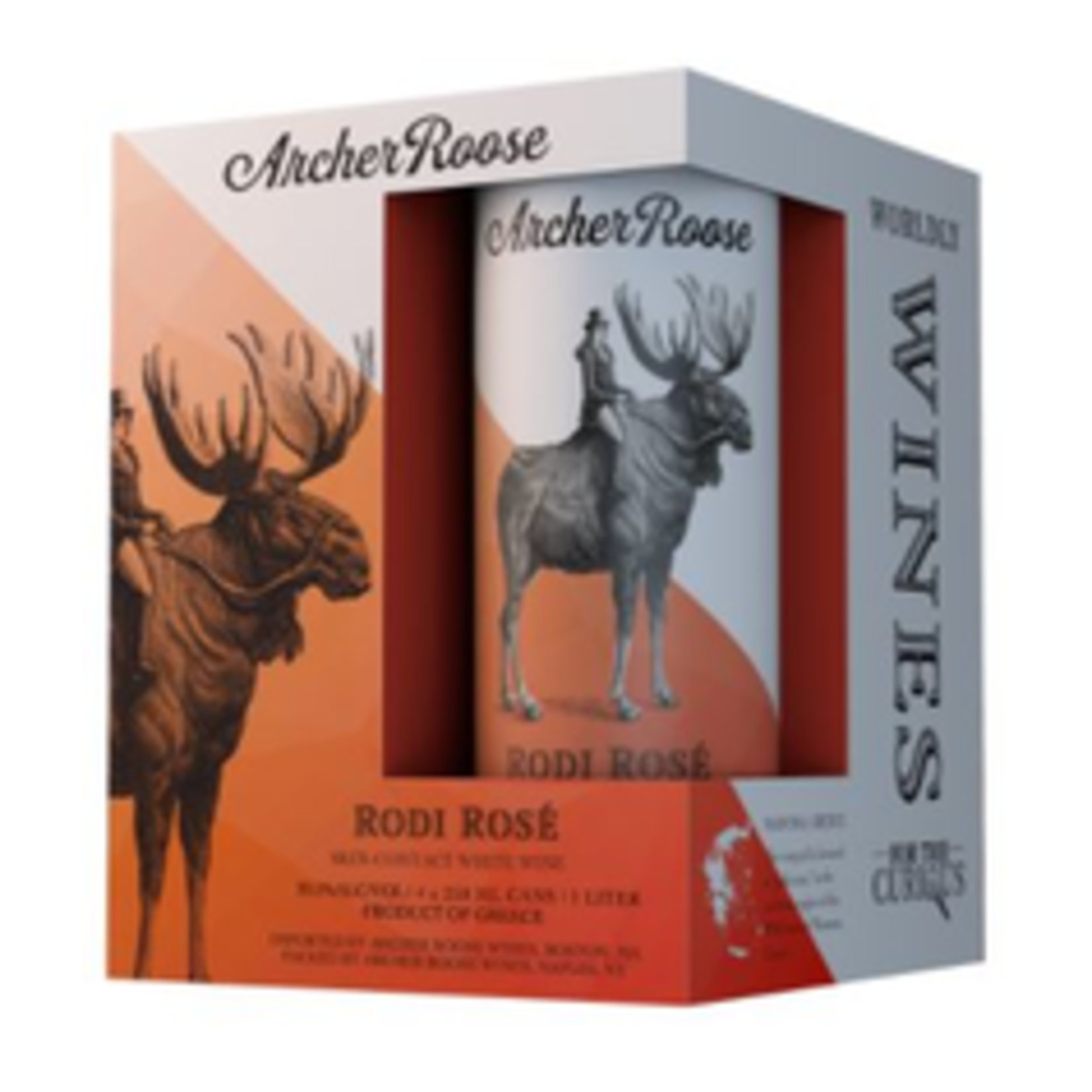 Wine Archer Roose Provence Rose 250ml Can