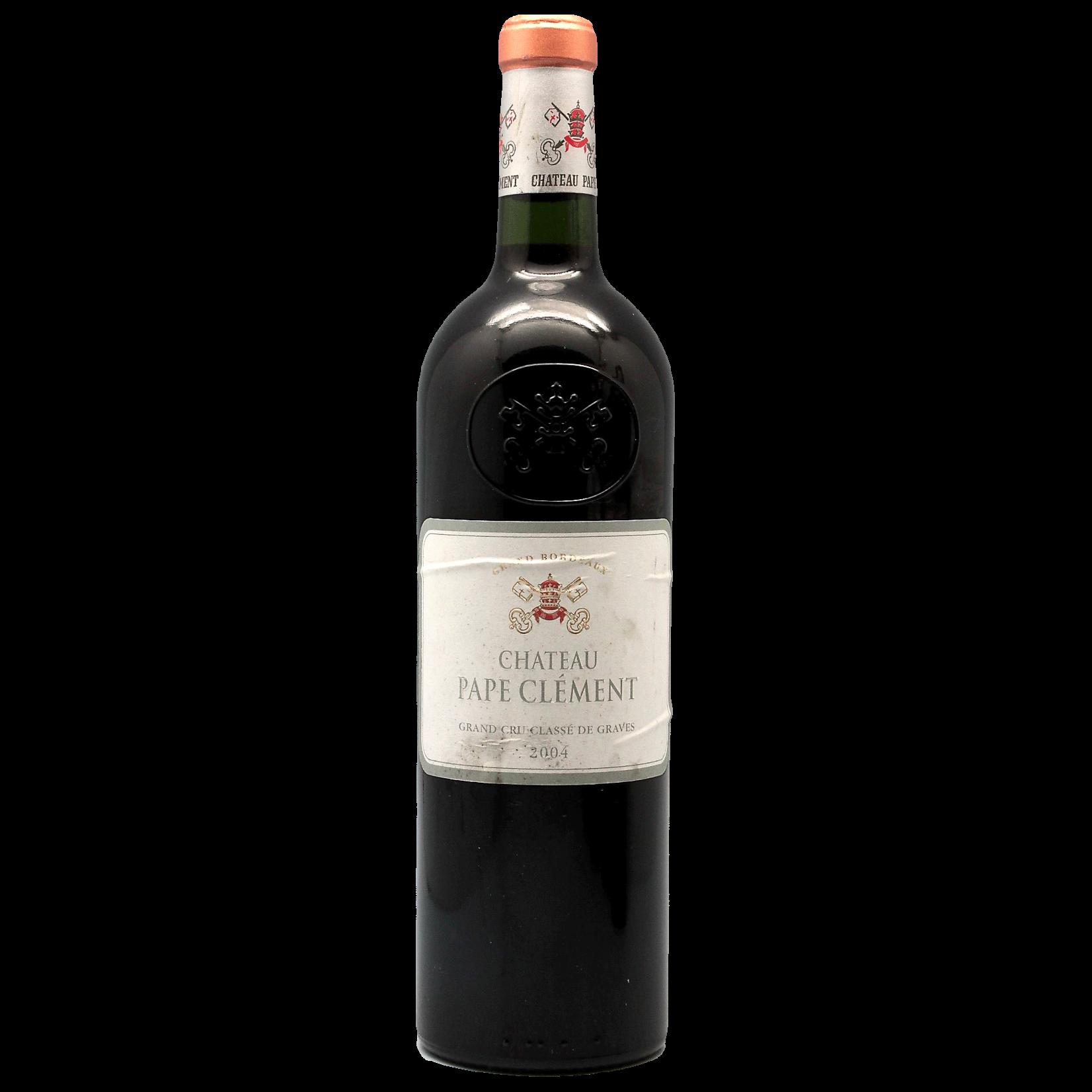 Wine Chateau Pape Clement 2004