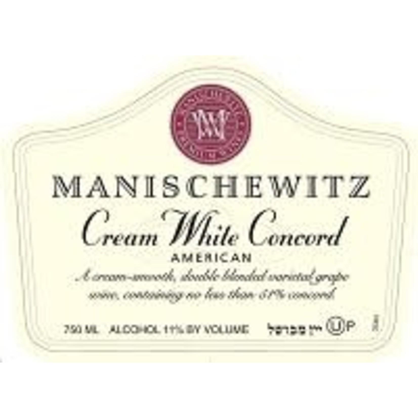 Wine Manischewitz Cream White Concord Kosher