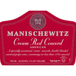 Wine Manischewitz Cream Red Concord Kosher