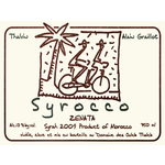 Wine Alain Graillot Zenata Syrah du Morocco Syrocco Thalvin 2018
