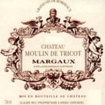 Wine Moulin de Tricot Margaux 2017