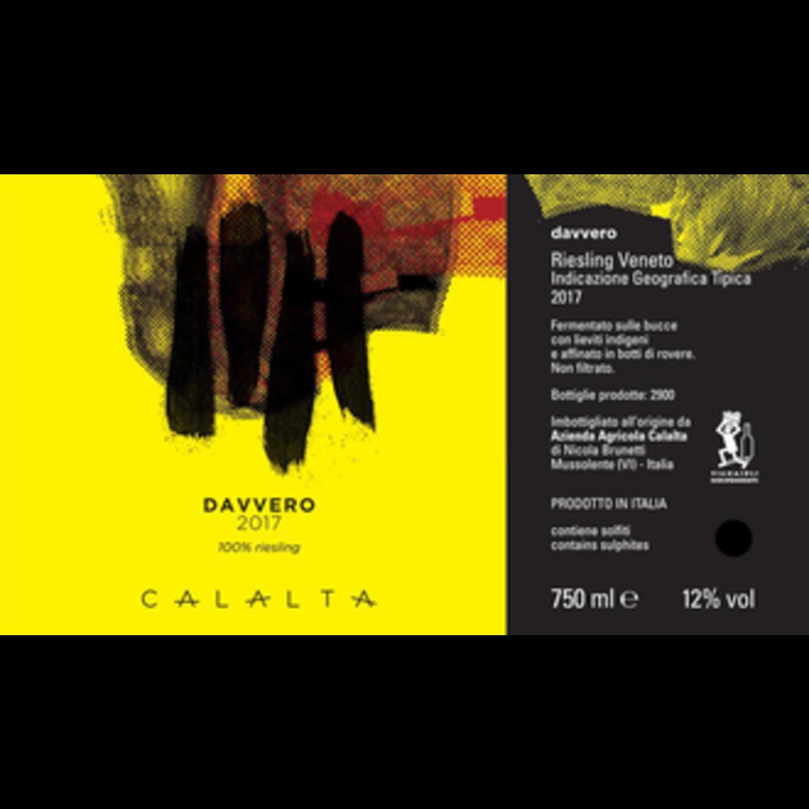 Wine Calalta Davvero Riesling 2019