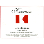 Wine Keenan Chardonnay Spring Mountain District  2018