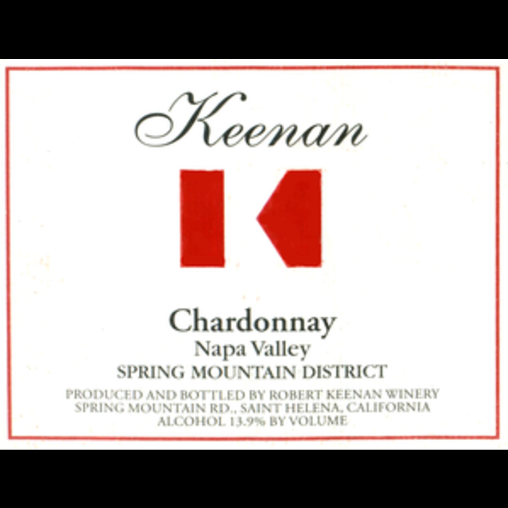 Wine Keenan Chardonnay Spring Mountain District  2018