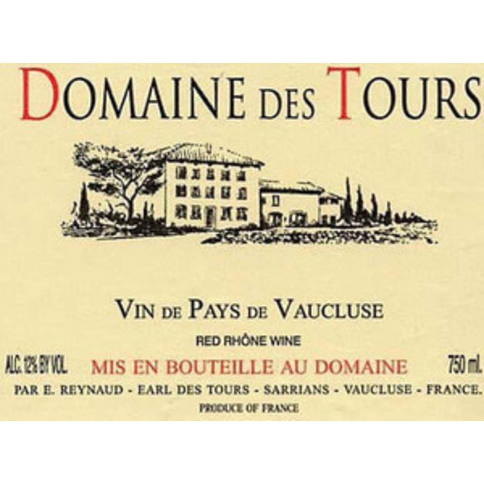 Wine Domaine des Tours VdP Vaucluse Rouge 2016