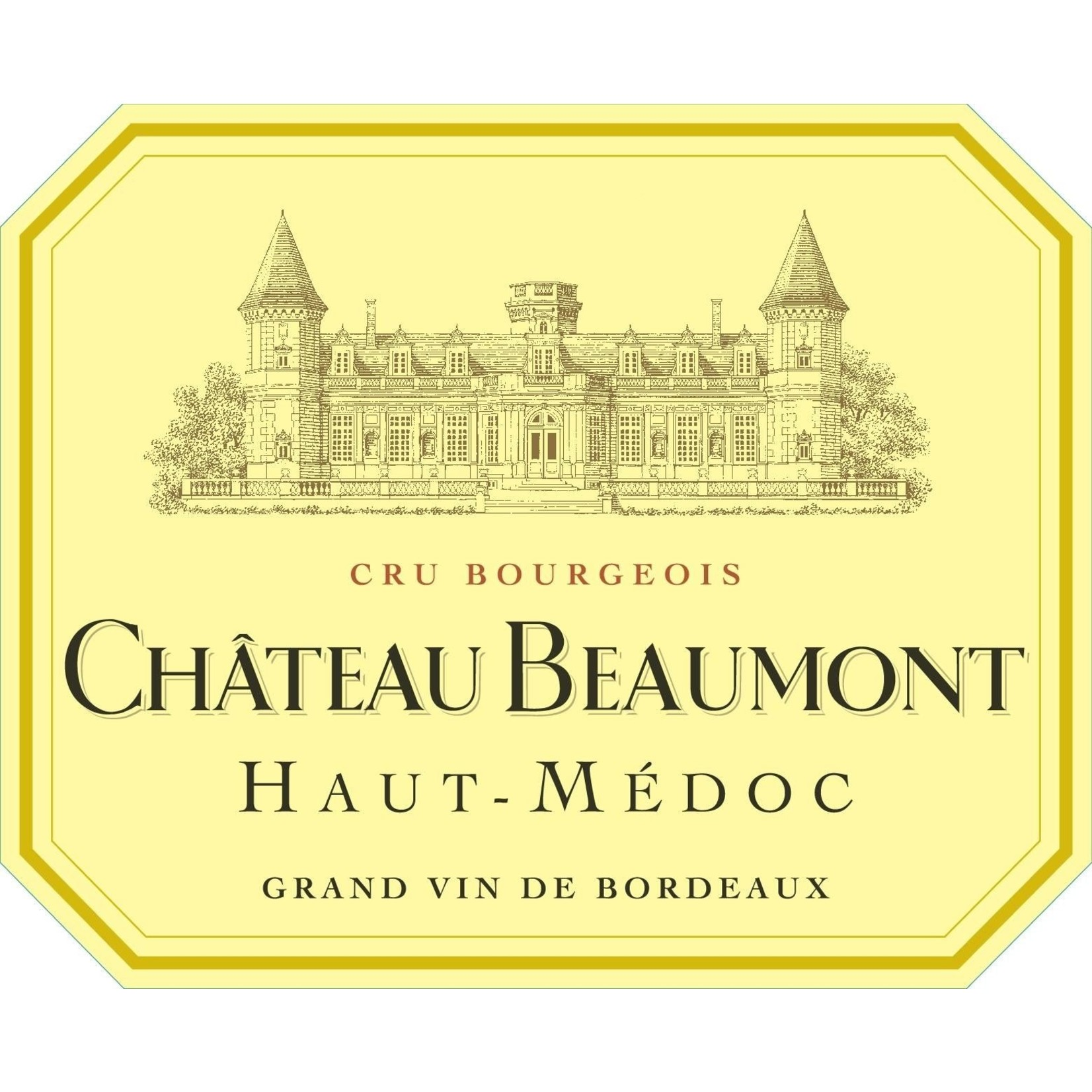 Wine Chateau Beaumont 2018