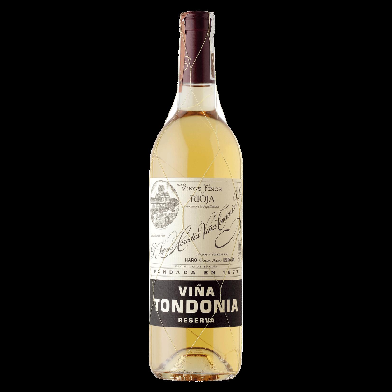 Wine Lopez de Heredia Tondonia Reserva White 2009