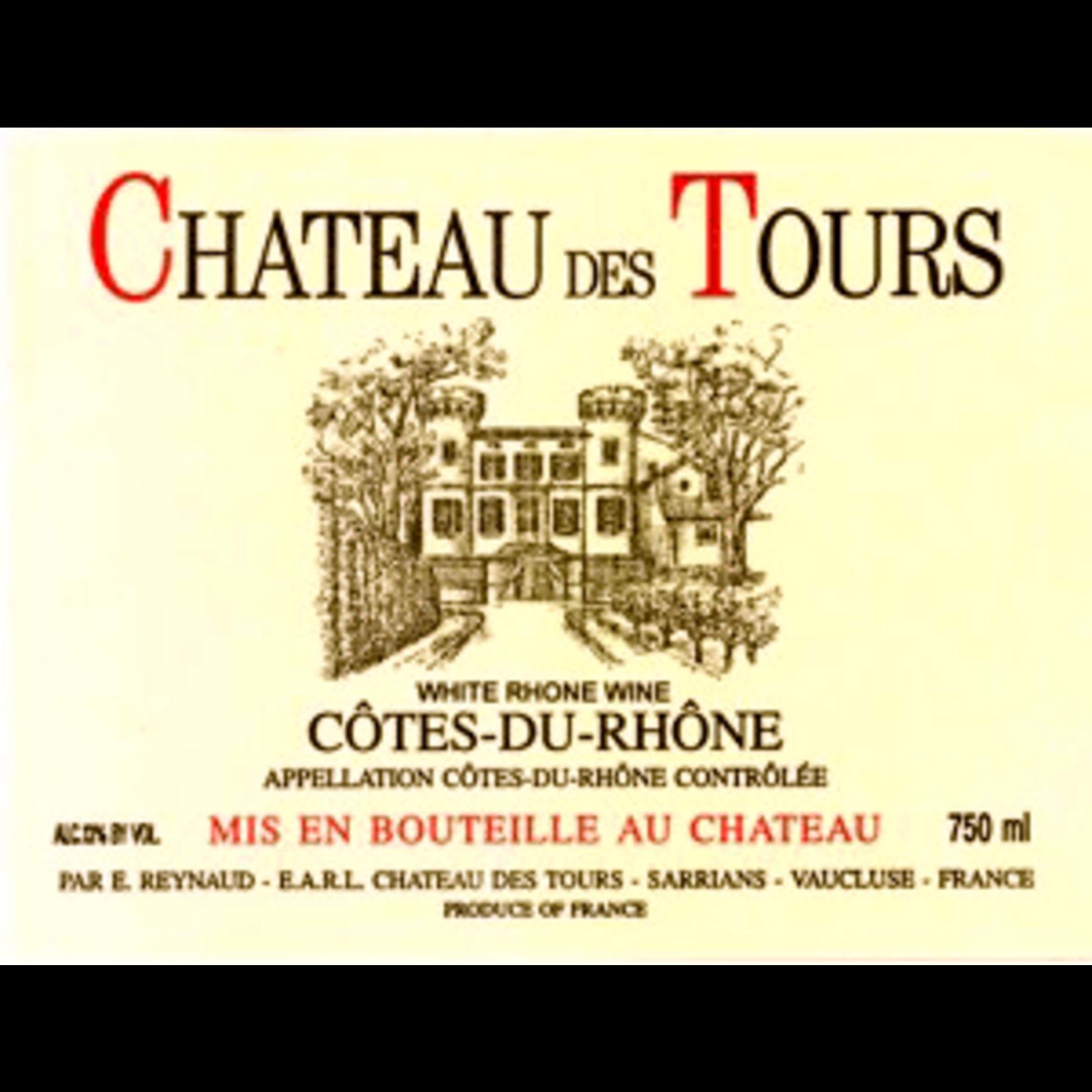 Wine Chateau des Tours Cotes du Rhone Blanc 2017