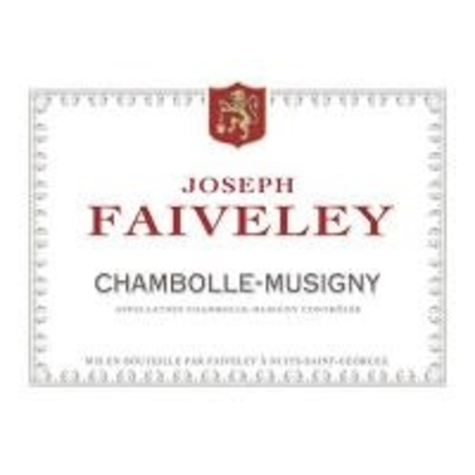 Wine Joseph Faiveley Chambolle Musigny 2012